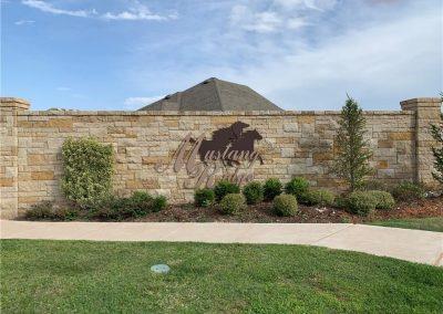 6 Mustang Ridge Sign